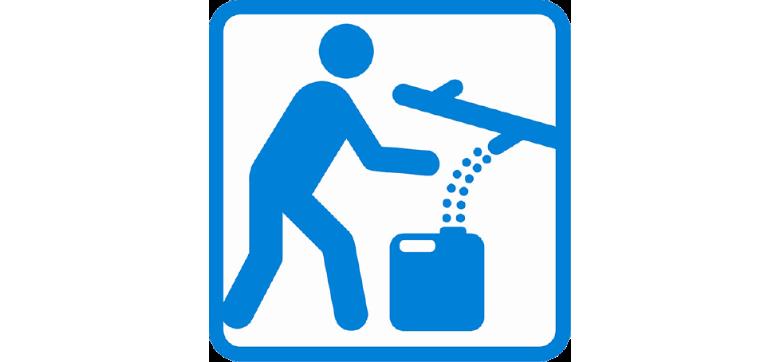 貯水機能のある災害時給水拠点シンボルマーク