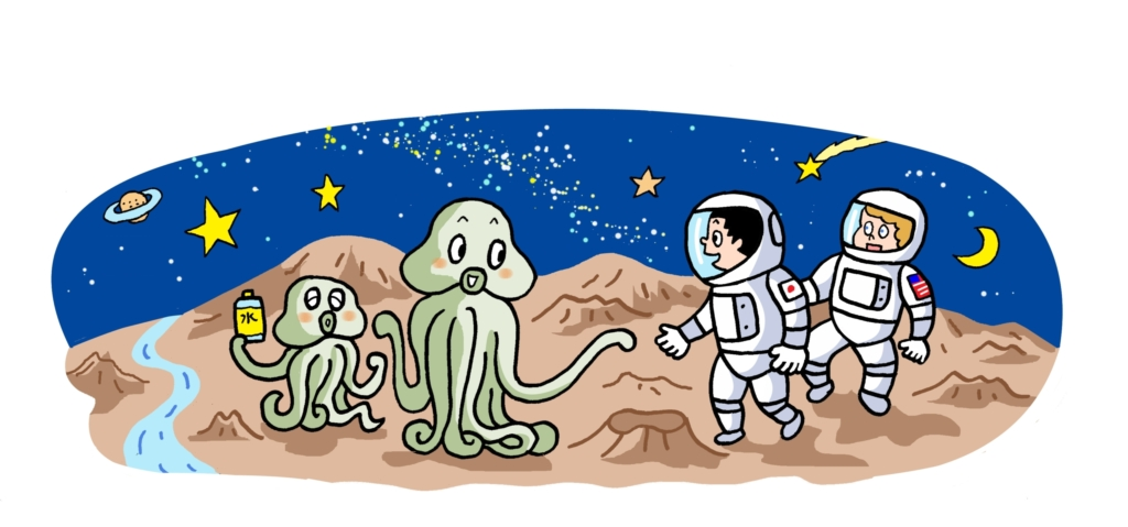 火星にも生き物がいるかも